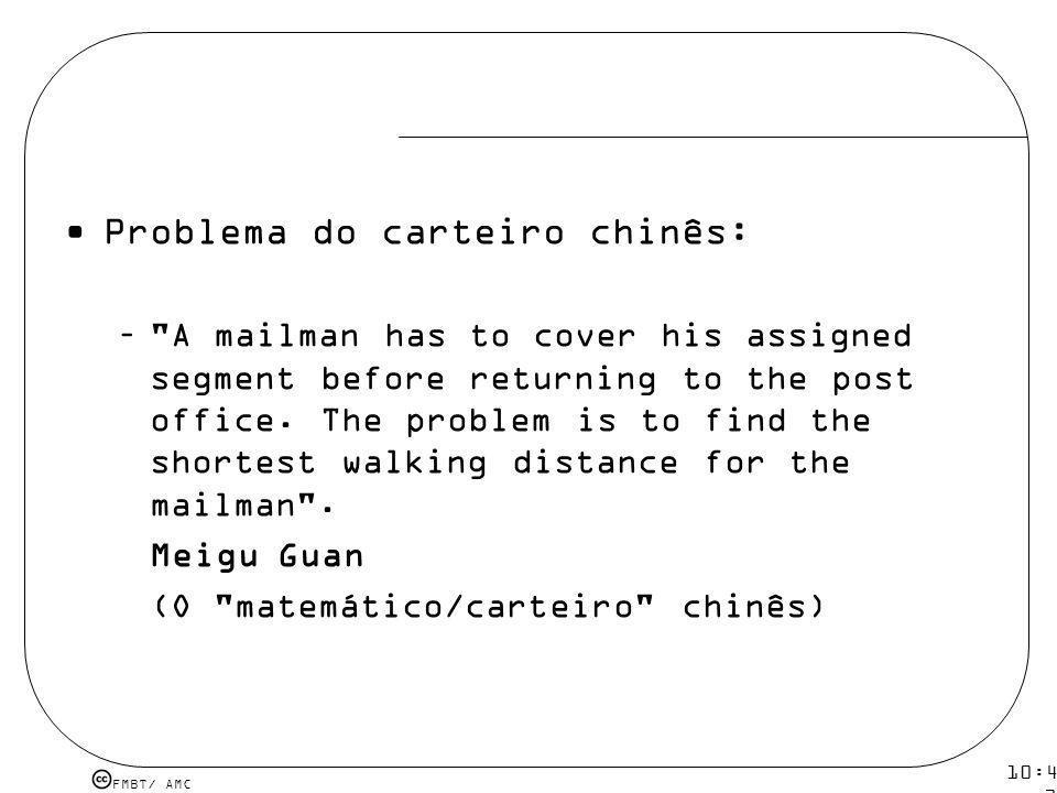 Problema do carteiro chinês: