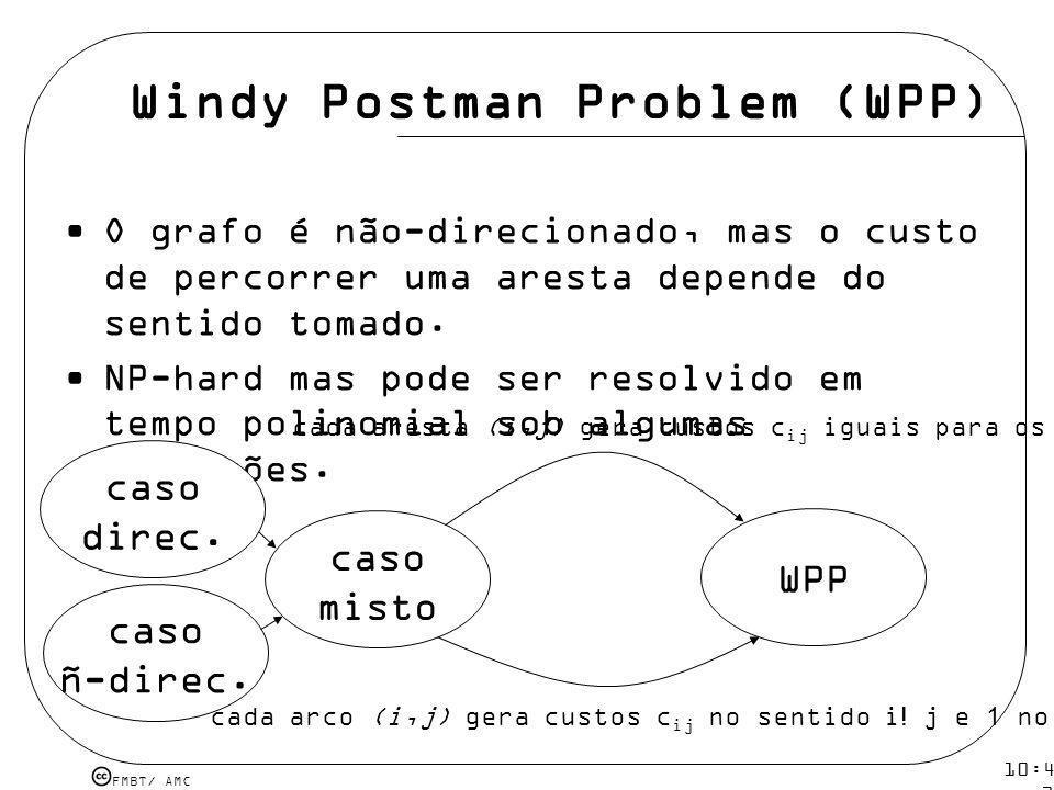 Windy Postman Problem (WPP)