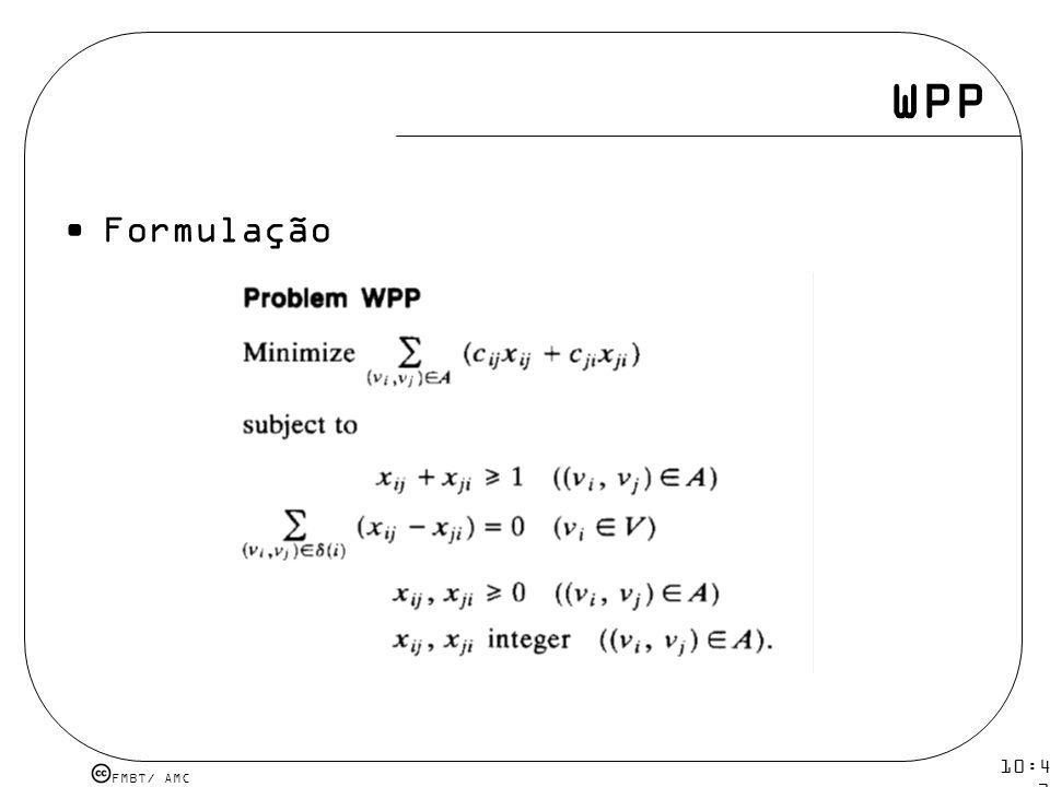 WPP Formulação 10:43 19 mar 2009.