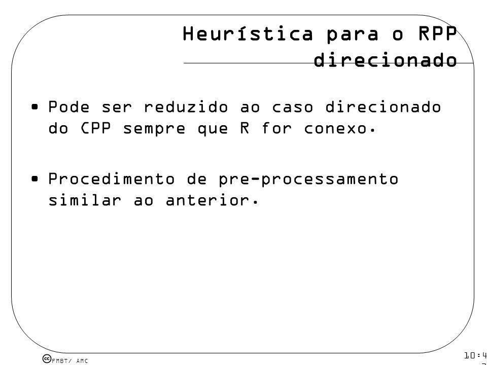 Heurística para o RPP direcionado