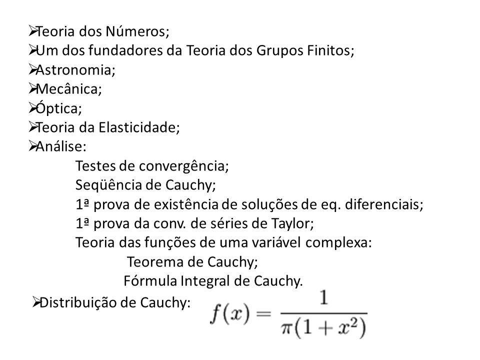 Distribuição de Cauchy: