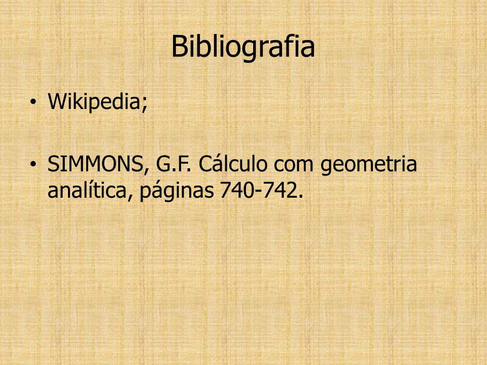 Bibliografia Wikipedia;