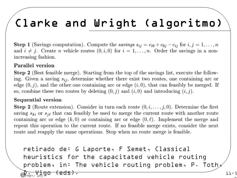 Clarke and Wright (algoritmo)