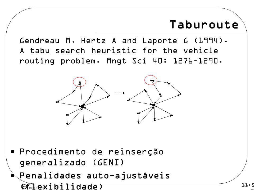 Taburoute Procedimento de reinserção generalizado (GENI)