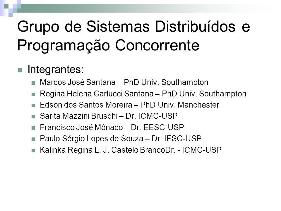 Grupo de Sistemas Distribuídos e Programação Concorrente