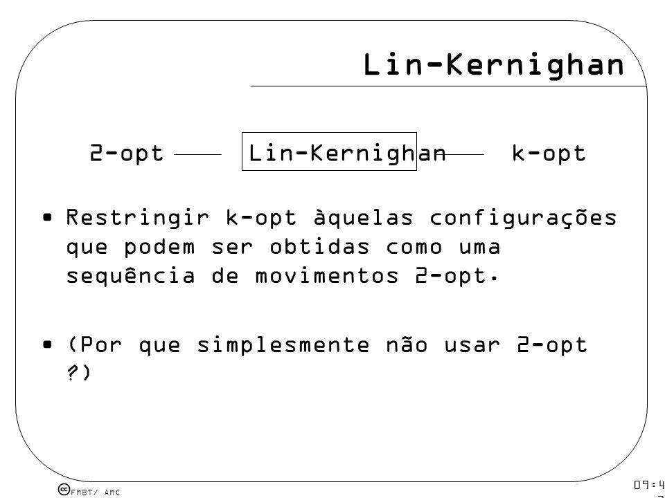 Lin-Kernighan 2-opt Lin-Kernighan k-opt