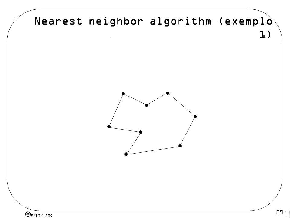 Nearest neighbor algorithm (exemplo 1)