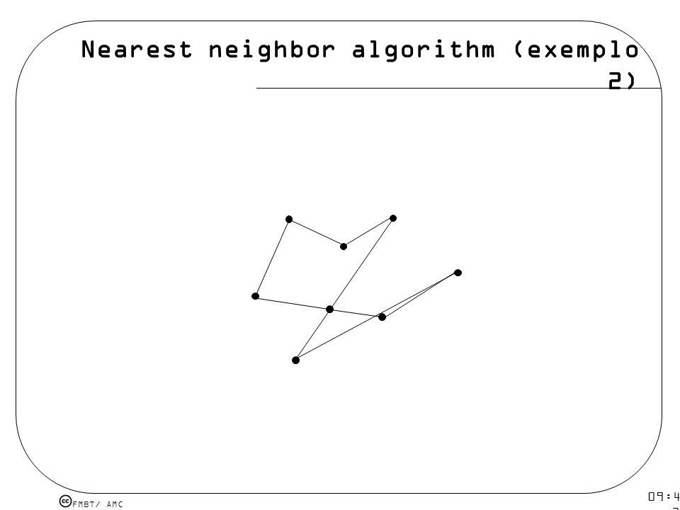 Nearest neighbor algorithm (exemplo 2)