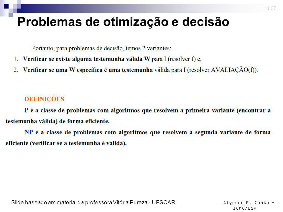 Problemas de otimização e decisão