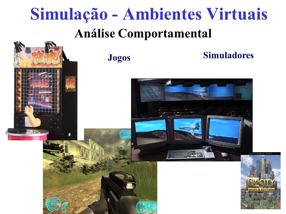 Simulação - Ambientes Virtuais