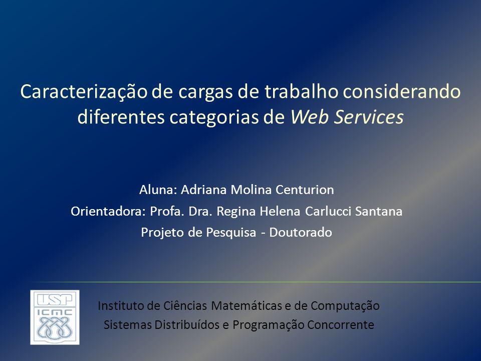 Caracterização de cargas de trabalho considerando diferentes categorias de Web Services