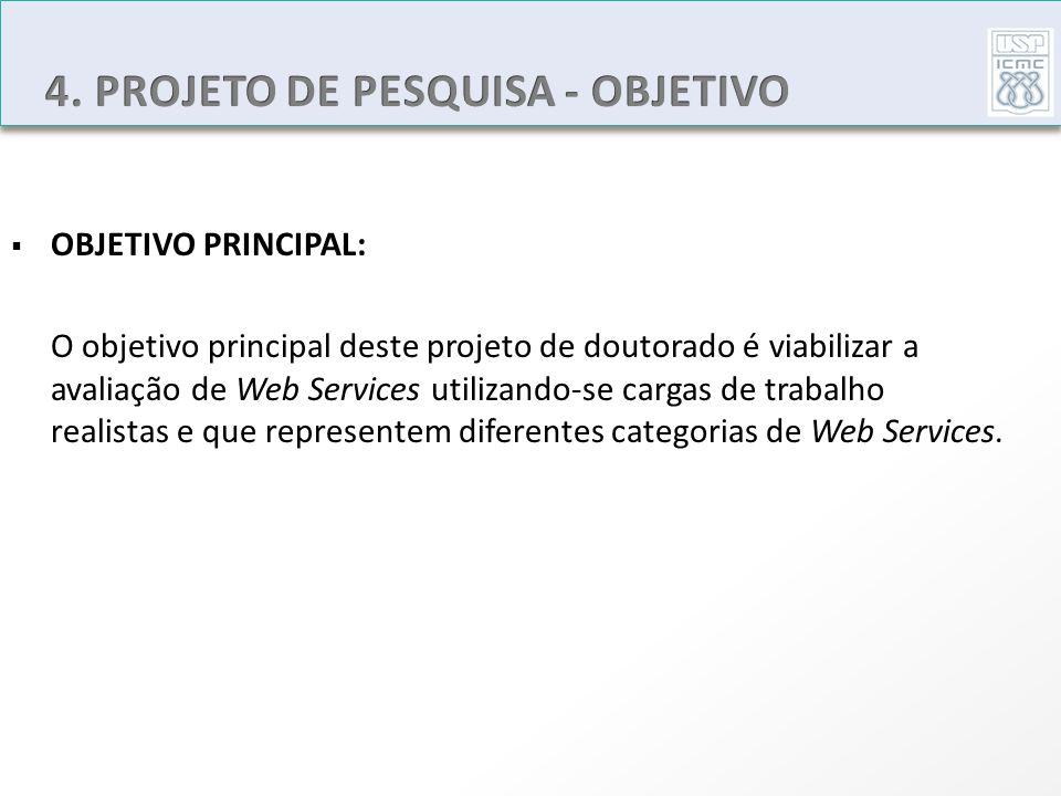 4. PROJETO DE PESQUISA - OBJETIVO