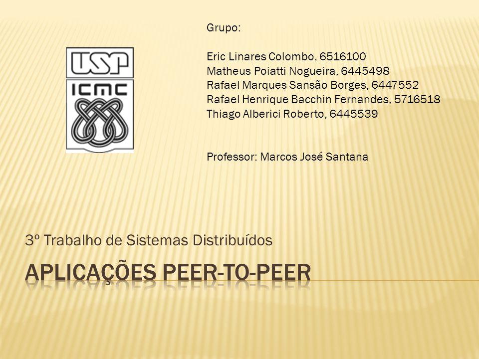 Aplicações peer-to-peer