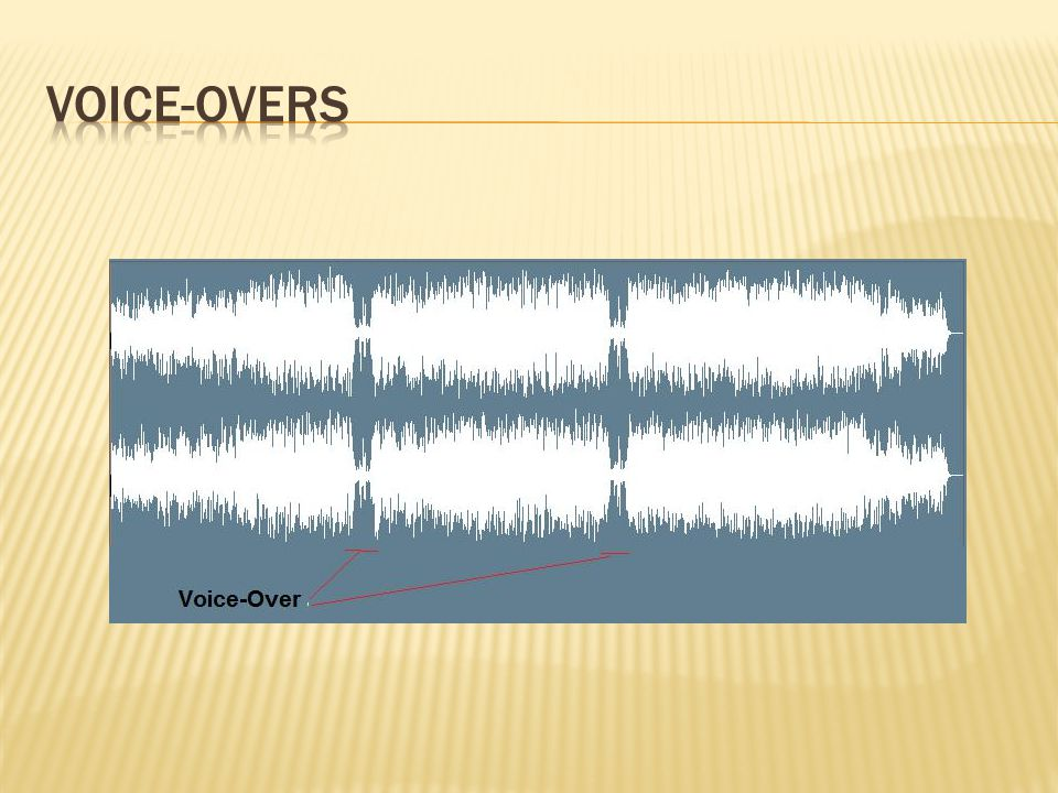 Voice-overs