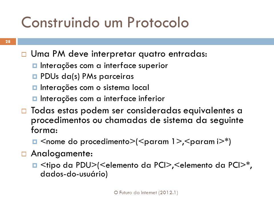 Construindo um Protocolo