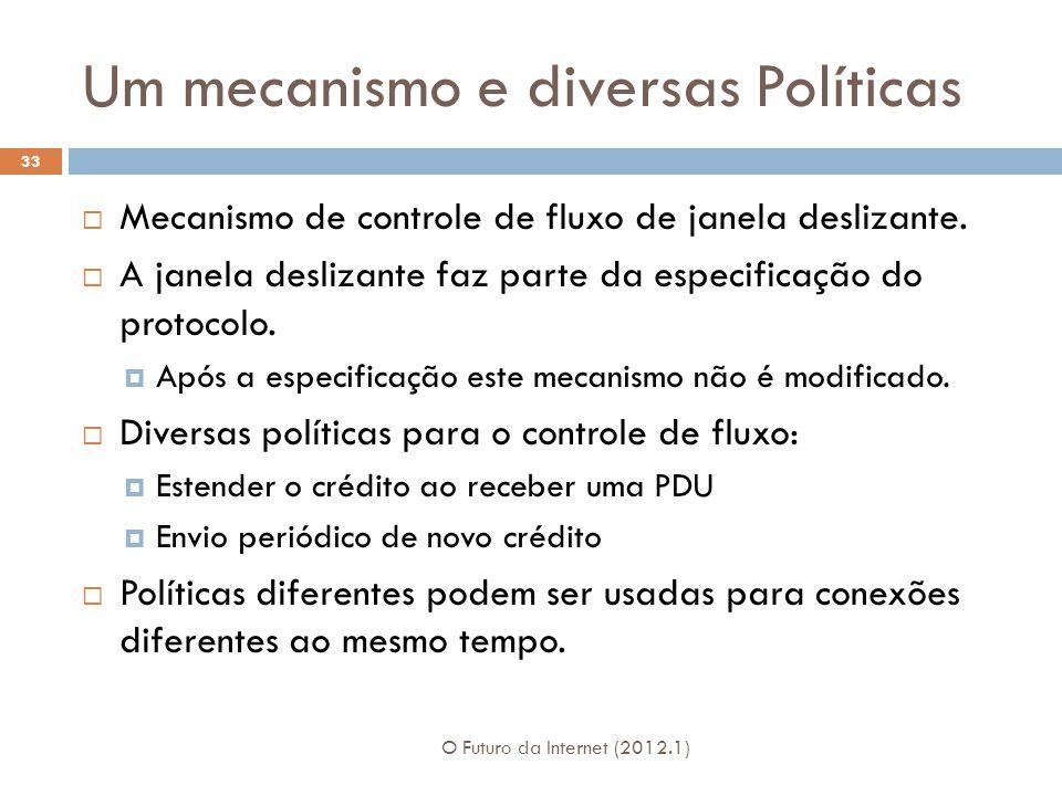 Um mecanismo e diversas Políticas