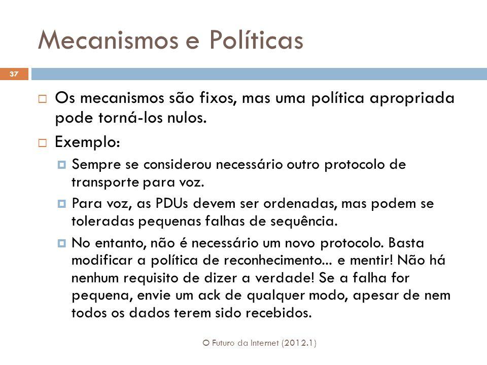 Mecanismos e Políticas
