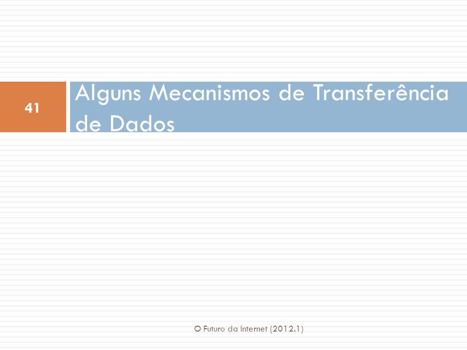 Alguns Mecanismos de Transferência de Dados
