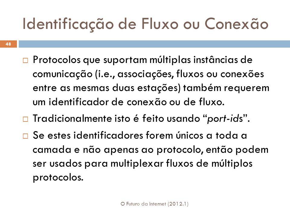 Identificação de Fluxo ou Conexão