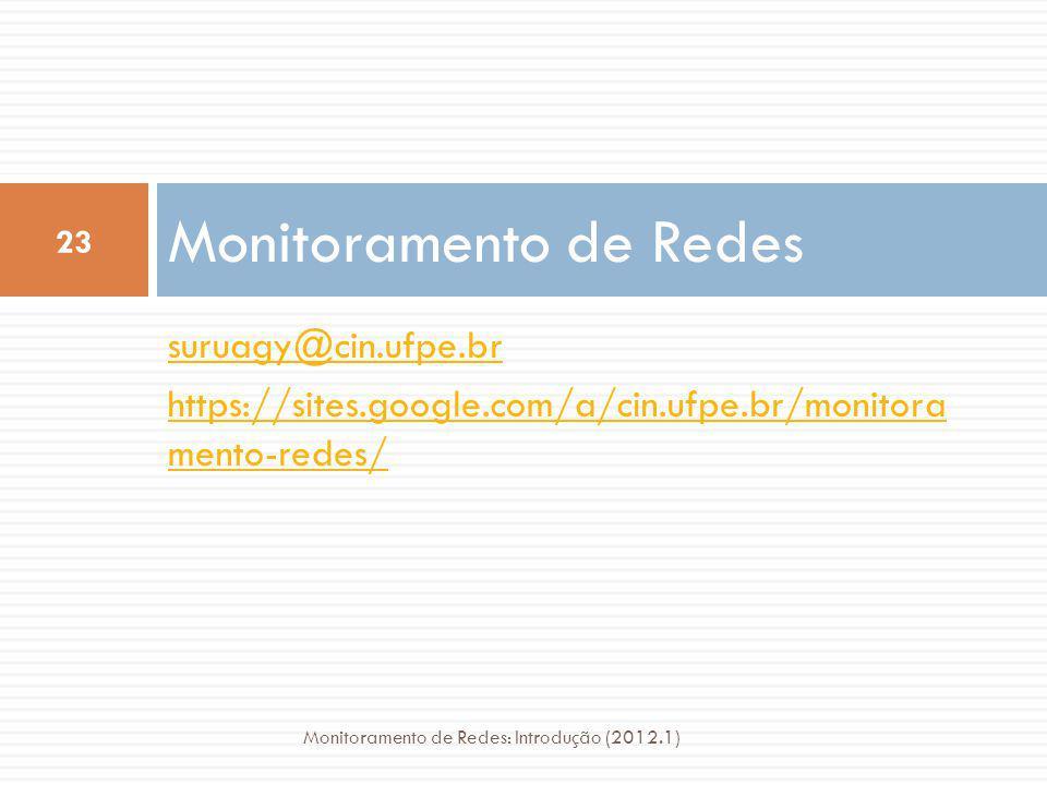 Monitoramento de Redes