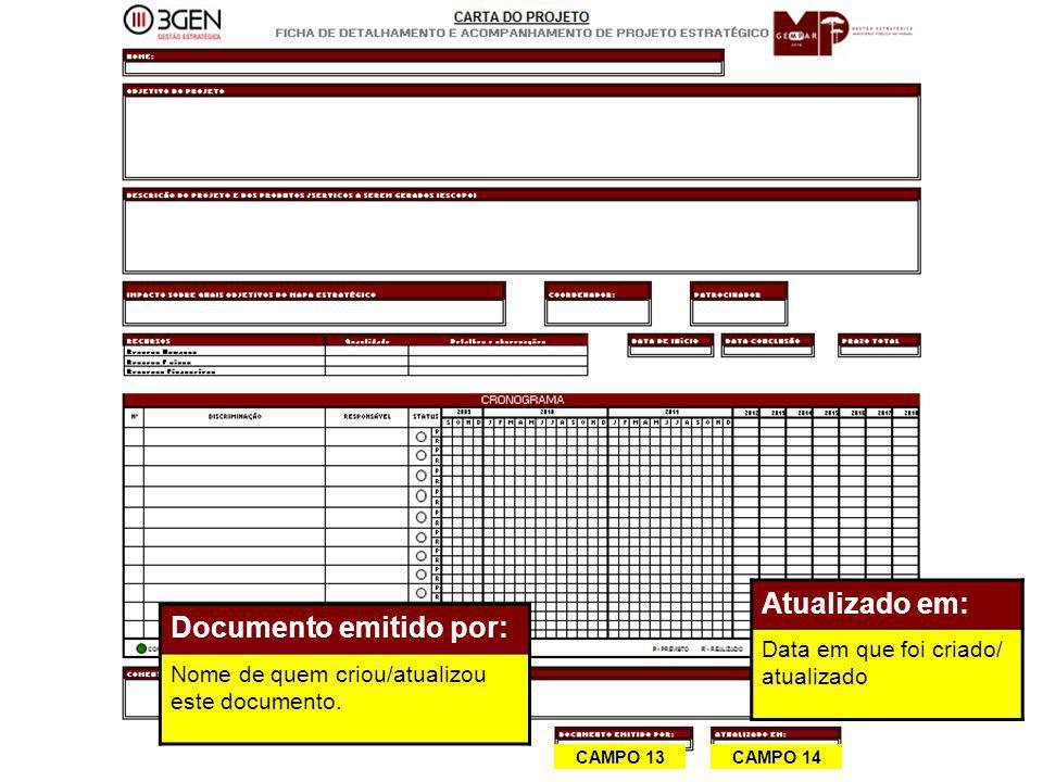 Documento emitido por: