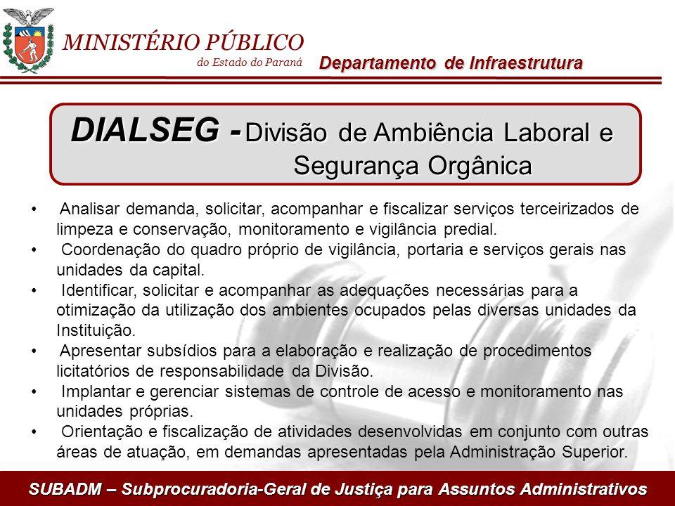 DIALSEG - Divisão de Ambiência Laboral e