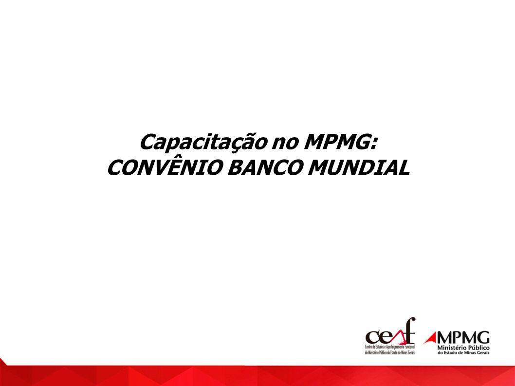 CONVÊNIO BANCO MUNDIAL