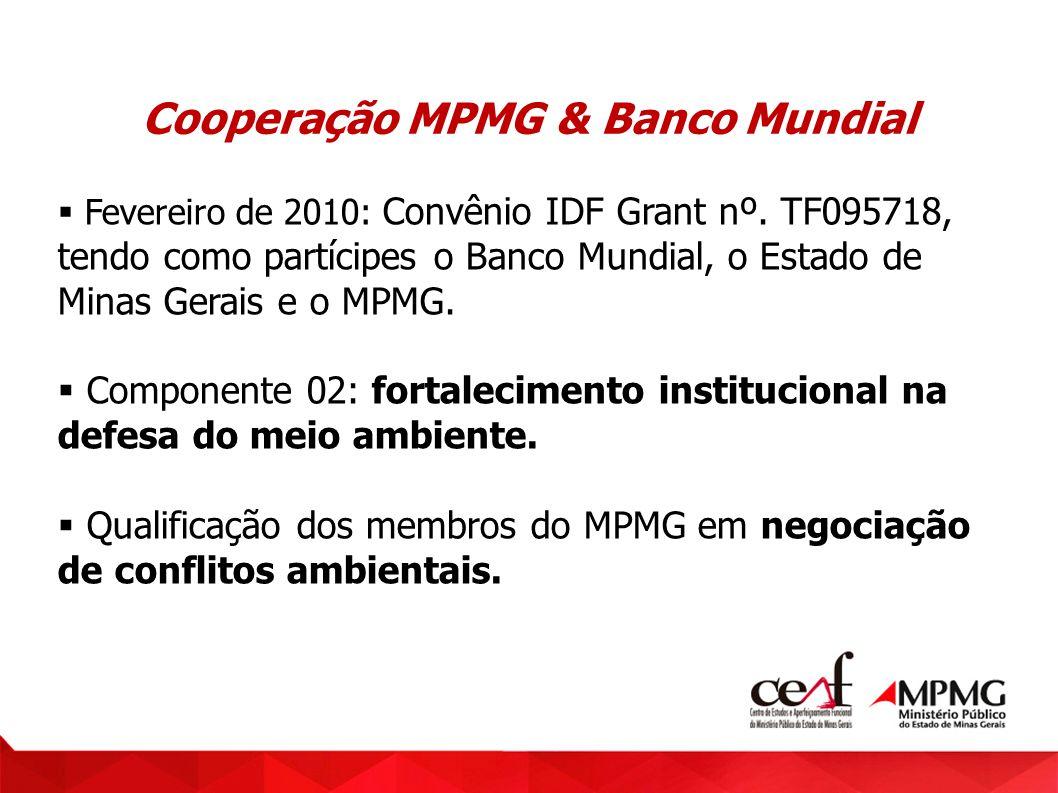 Cooperação MPMG & Banco Mundial