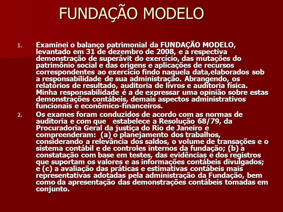 FUNDAÇÃO MODELO