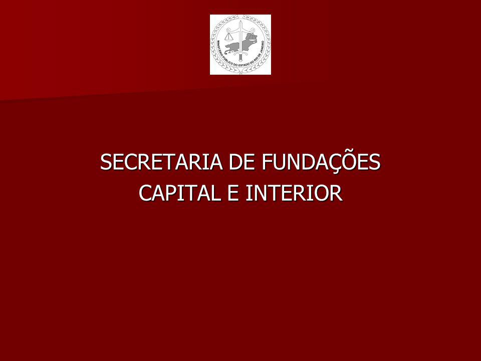 SECRETARIA DE FUNDAÇÕES