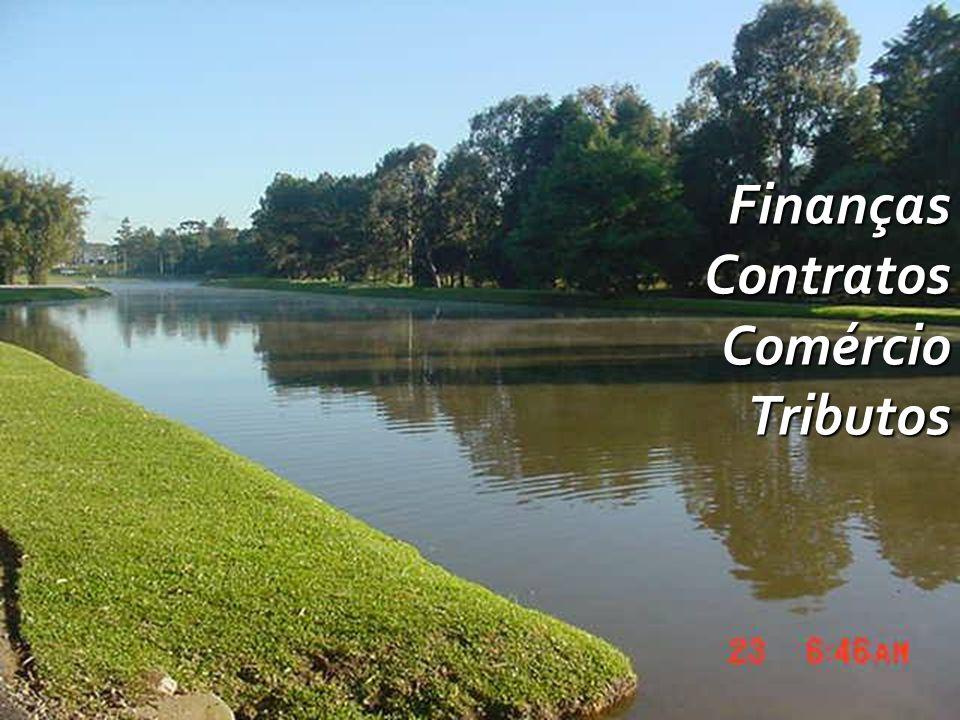 Finanças Contratos Comércio Tributos