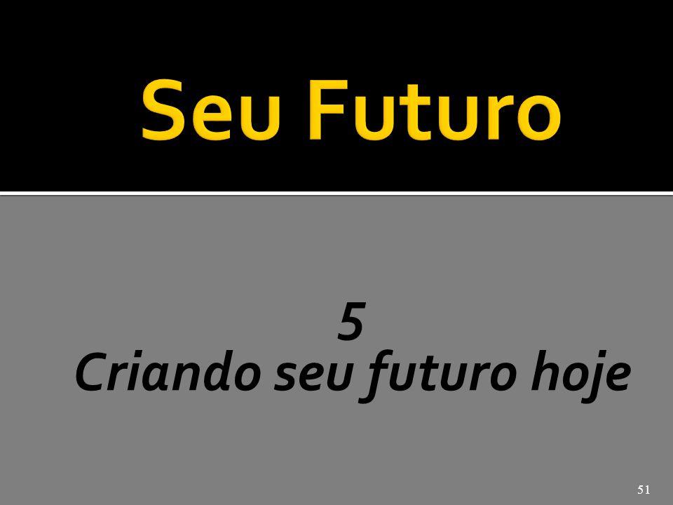 Criando seu futuro hoje