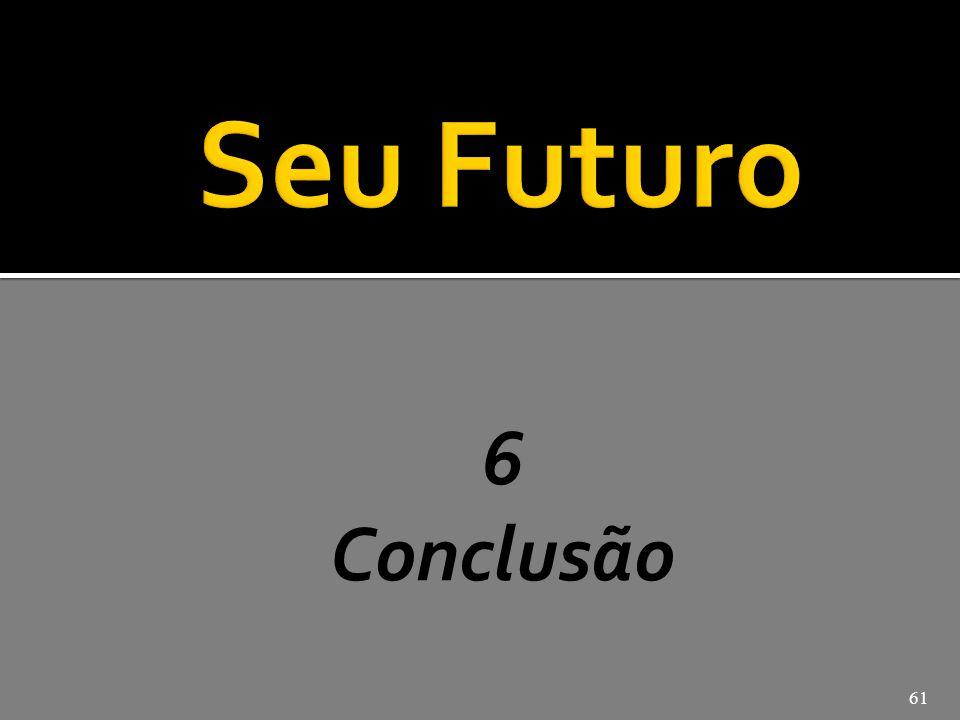 José Pio Martins Seu Futuro 6 Conclusão
