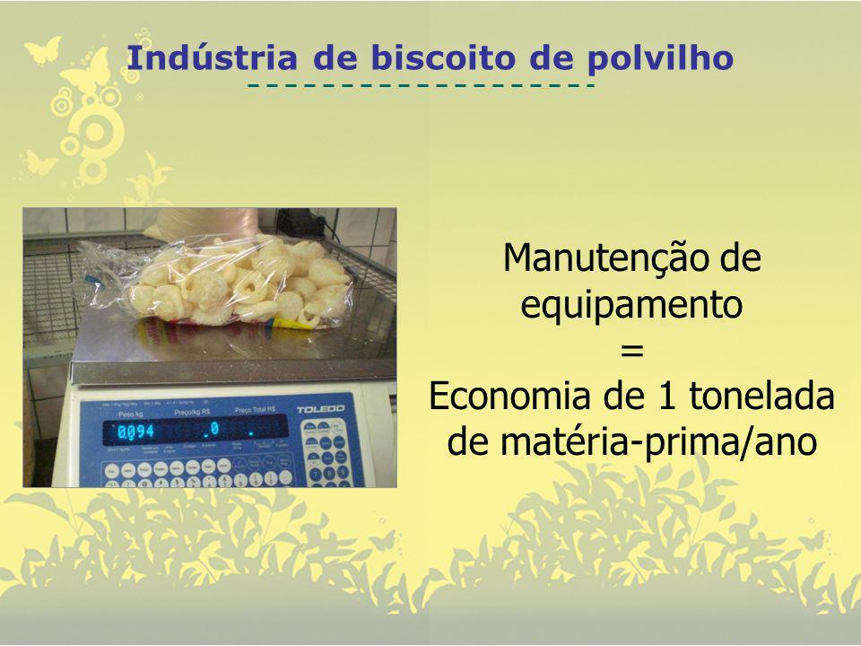 Indústria de biscoito de polvilho