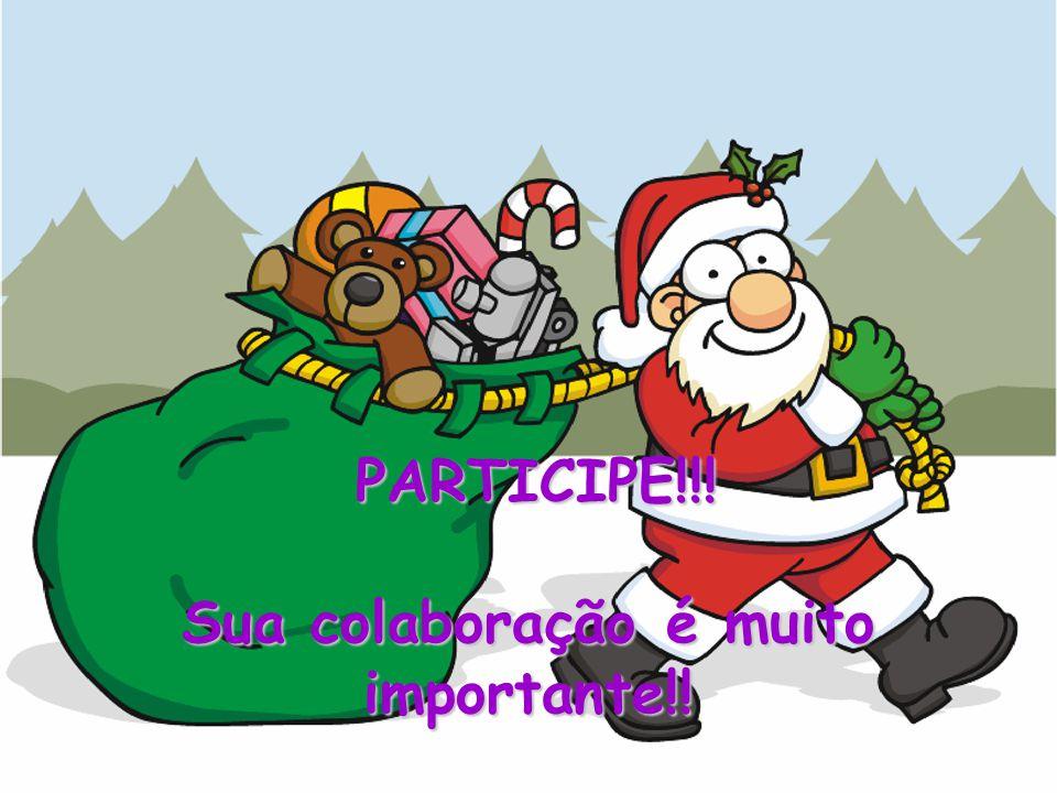 PARTICIPE!!! Sua colaboração é muito importante!!