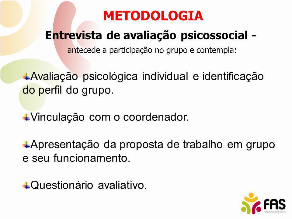 Entrevista de avaliação psicossocial -
