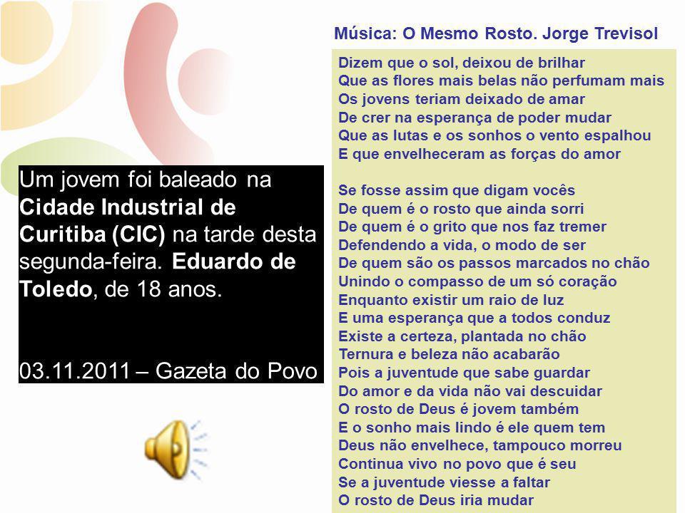Música: O Mesmo Rosto. Jorge Trevisol