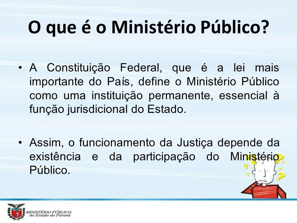 O que é o Ministério Público