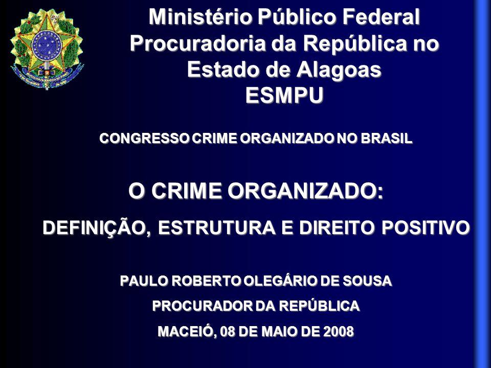 Ministério Público Federal Procuradoria da República no Estado de Alagoas ESMPU