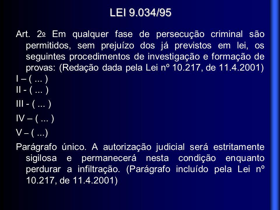 LEI 9.034/95