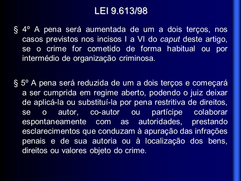 LEI 9.613/98
