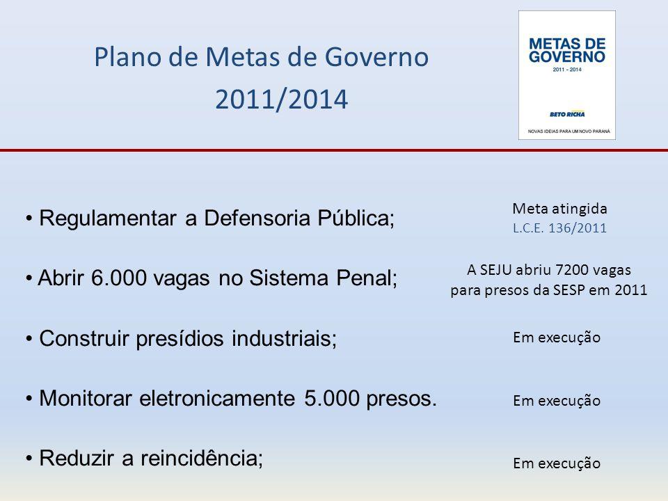 Plano de Metas de Governo 2011/2014