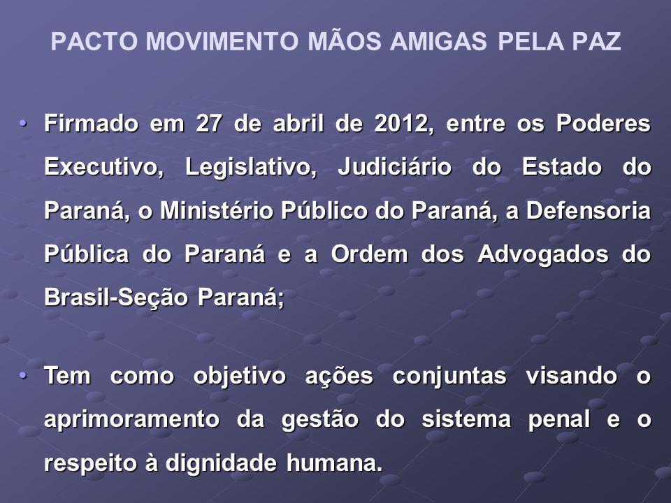 PACTO MOVIMENTO MÃOS AMIGAS PELA PAZ