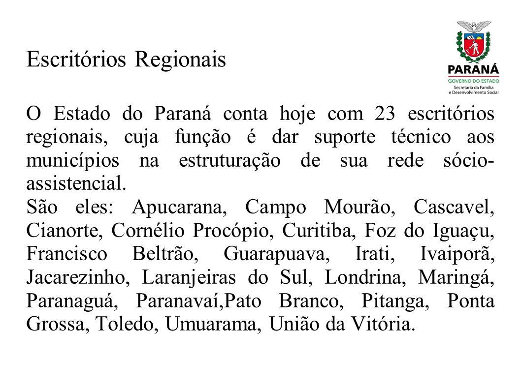 Escritórios Regionais