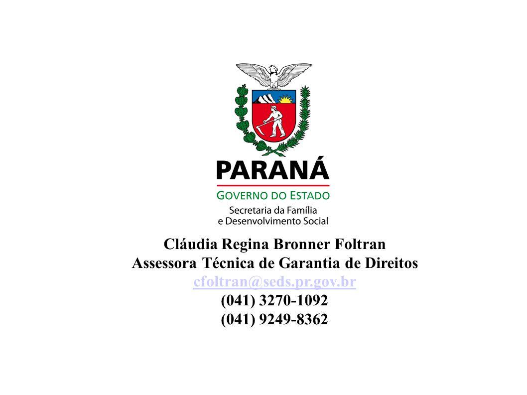 Cláudia Regina Bronner Foltran