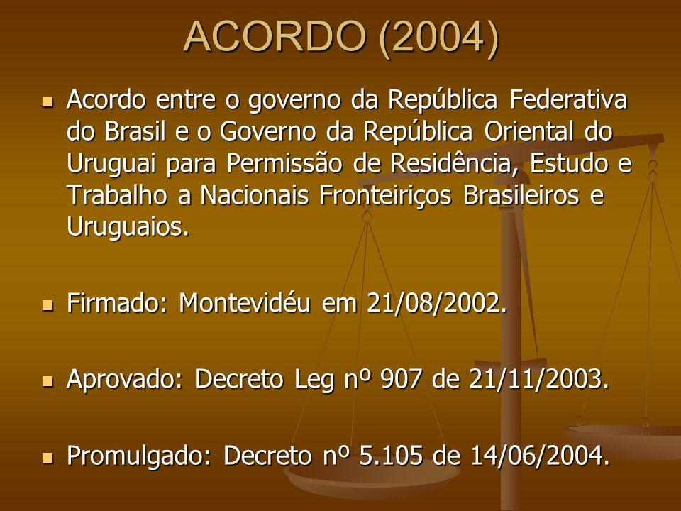 ACORDO (2004)
