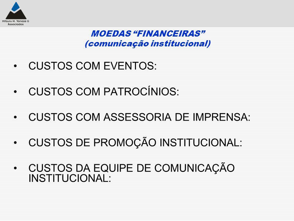 MOEDAS FINANCEIRAS (comunicação institucional)