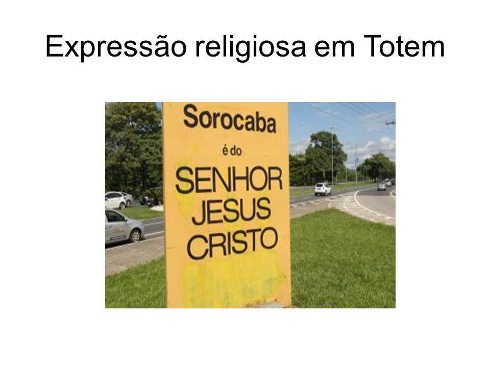 Expressão religiosa em Totem