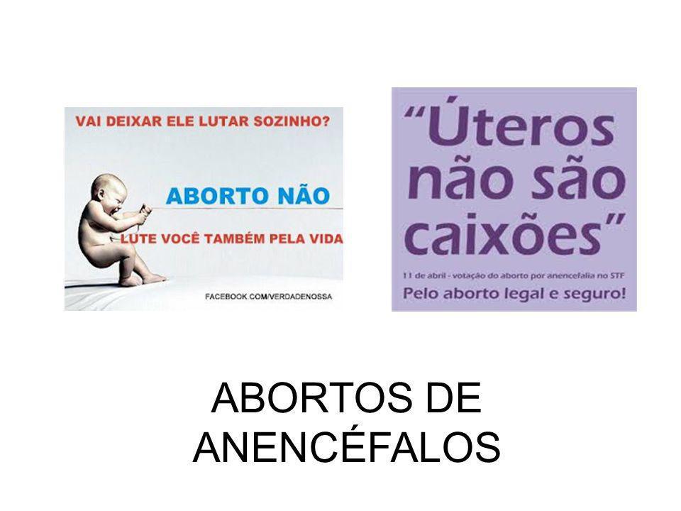 ABORTOS DE ANENCÉFALOS
