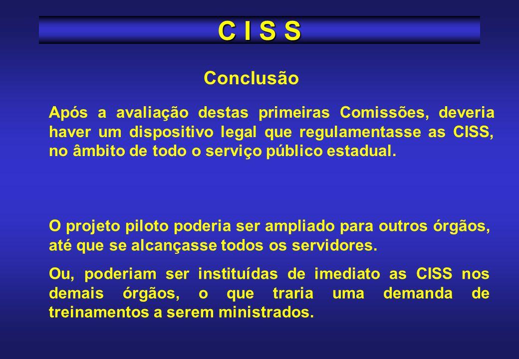 C I S S Conclusão.
